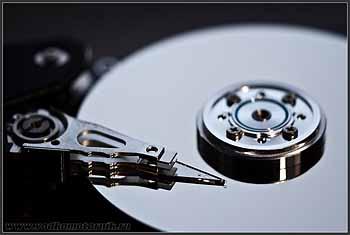 HDD в разобранном виде....