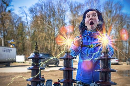 Электричество не шутка!