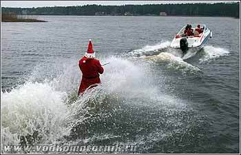 К Вам поехал Дед Мороз!