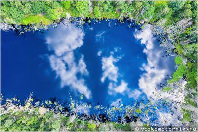 Отражения озера Узкое