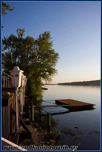Утро на Дунае. 2008