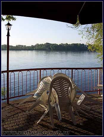 Дунай. Утро. 2008г.