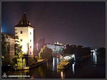 Прага ночная.