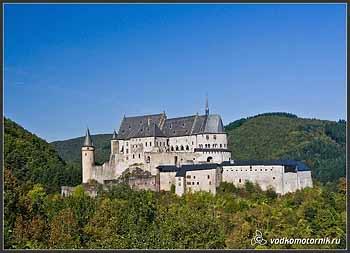 Люксембург. Замок Вианден.