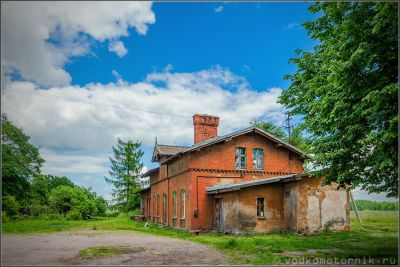 Железнодорожная станция Озерки
