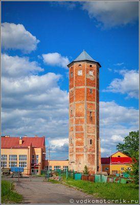 Водонапорная башня Гердауэна п.Железнодорожный