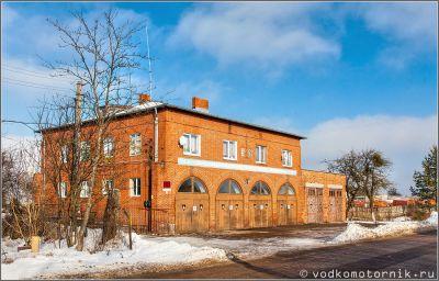 Правдинск - здание пожарной части