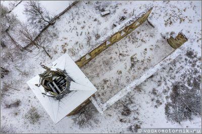 п.Зеленополье - руины кирхи Борхерсдорфа