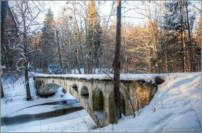 Мост Новый - Neue Brücke Роминтенская пуща