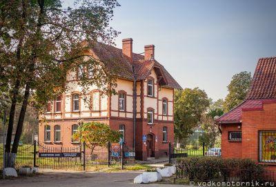 Здание Водоканала 1898 г. постройки Черняховск
