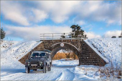 Железнодорожный мост в Краснолесье