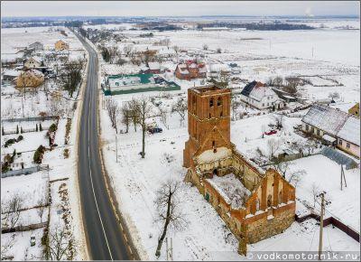 Кирха Альменхаузена в п. Каштаново