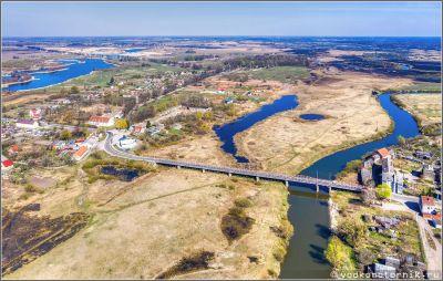 Семиарочный мост, Знаменск