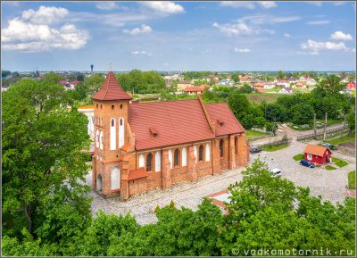 Кирха Святой Катарины в Арнау - п.Родники