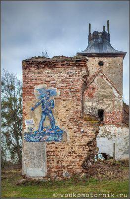 Кирха  Борхерсдорфа - памятник погибшим в годы 1й Мировой войны