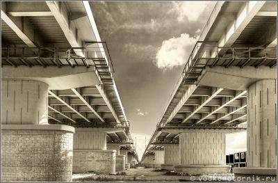 Пальмбургский мост 2019