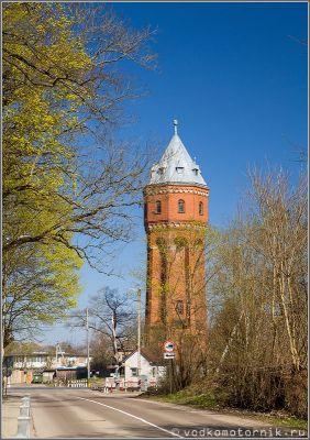 Водонапорная башня Знаменск