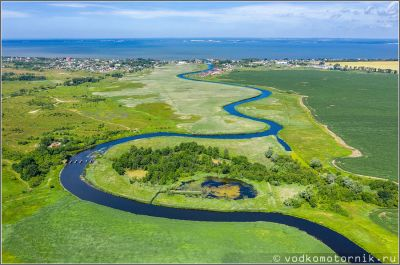 Река Прохладная, Аэросъемка