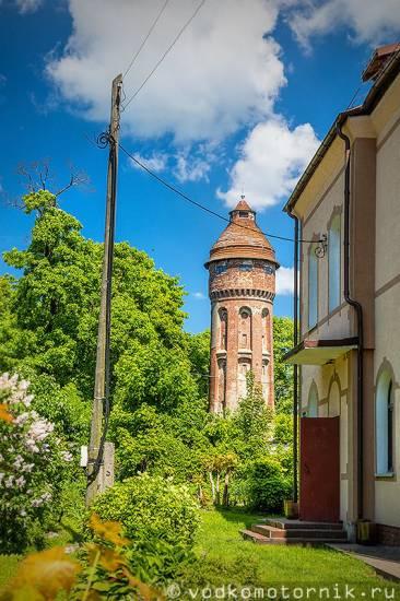 Водонапорная башня Приморск