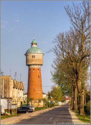Водонапорная башня Лабиау, Полесск