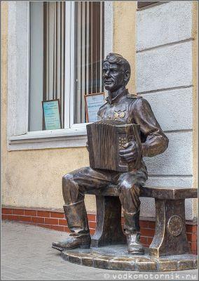 Памятник Василию Теркину, Гвардейск