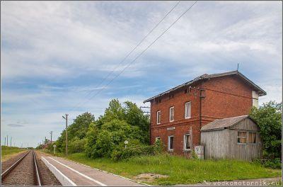 Здание железнодорожного вокзала Добрино