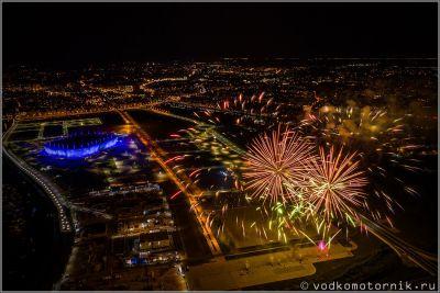 Фестиваль фейерверков в Калининграде