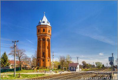 Водонапорная башня в п. Знаменск 1913 г.