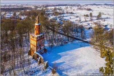 Кирха Христа в посёлке Чехово (Кирха Удервангена)