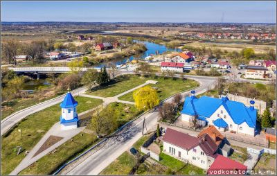 Знаменский православный храм и звонница