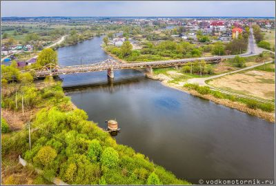 Довоенный мост через Преголю, Гвардейск