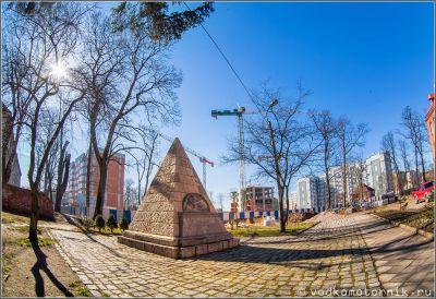 Памятник немецким саперам Первой мировой войны
