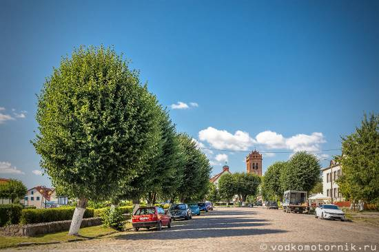 Железнодорожный (Gerdauen) - городская площадь