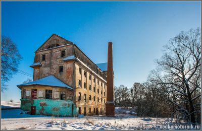 Чехово (Uderwangen) здание немецкой мельницы 1916г.