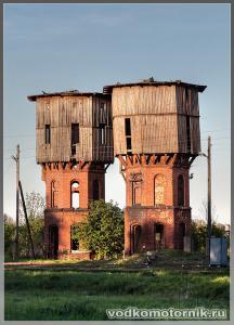 Железнодорожный. Водонапорные башни