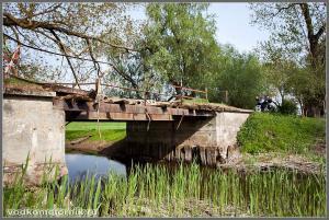 Мост через речку Туманная