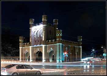 Королевские ворота. Калининград. 2008г.