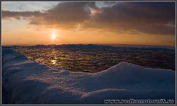 Балтика замерзла