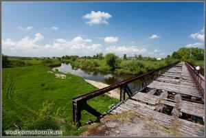 Остатки немецкого моста через Преголю