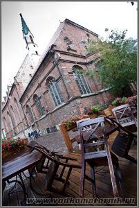 Старый город. Дождь. Рига Латвия