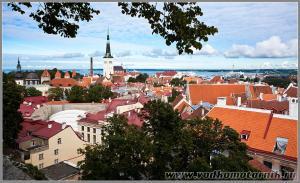 Старый Таллинн - вид сверху