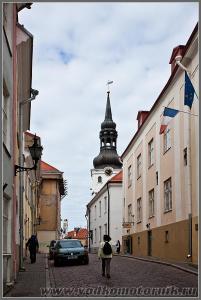 Улица старого Таллинна