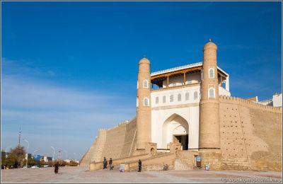 Узбекистан. Храм Пои-Калян