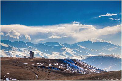 Казахстан. Вид на обсерваторию Ассы