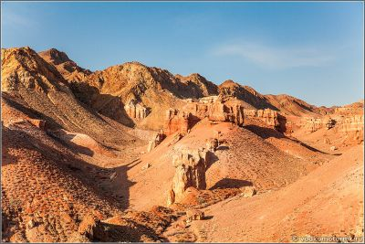 Казахстан - горы Чарынского каньона