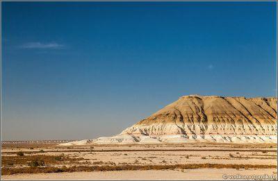 Казахстан - на плато Устюрт