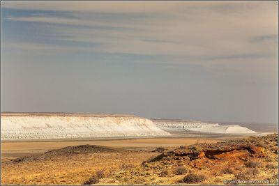 Казахстан виды плато Устюрт