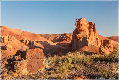 Казахстан - скалы Чарынского каньона