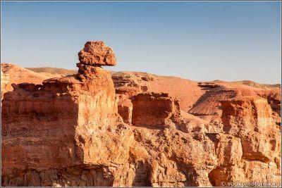 Казахстан. Причудливые скалы Чарынского каньона