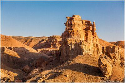 Казахстан - виды Чарынского каньона